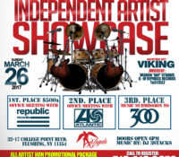 INDEPENDENT ARTIST SHOWCASE: MARCH 26