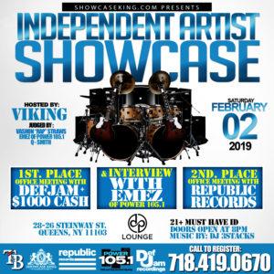 INDEPENDENT ARTIST SHOWCASE: FEBRUARY 02