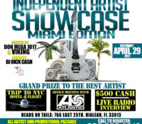 INDEPENDENT ARTIST SHOWCASE: MIAMI EDITION