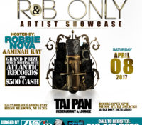 R&B ONLY ARTIST SHOWCASE