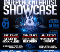 INDEPENDENT ARTIST SHOWCASE: OCT. 01