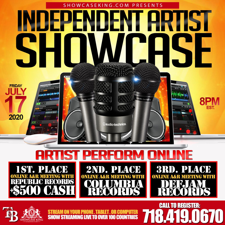 July 17 Showcase